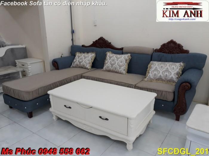 Thanh lý gấp các mẫu sofa cổ điển châu âu góc L thu hồi vốn, hàng chính hãng, chất lượng, bảo hành 4 năm25