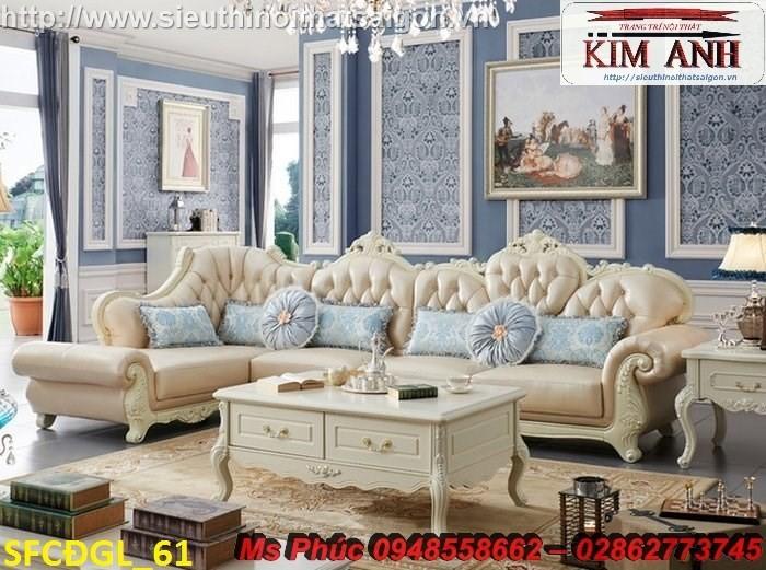 bàn ghế gỗ phòng khách tân cổ điển Huyện Thuận An6
