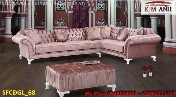 Thanh lý gấp các mẫu sofa cổ điển châu âu góc L thu hồi vốn, hàng chính hãng, chất lượng, bảo hành 4 năm18