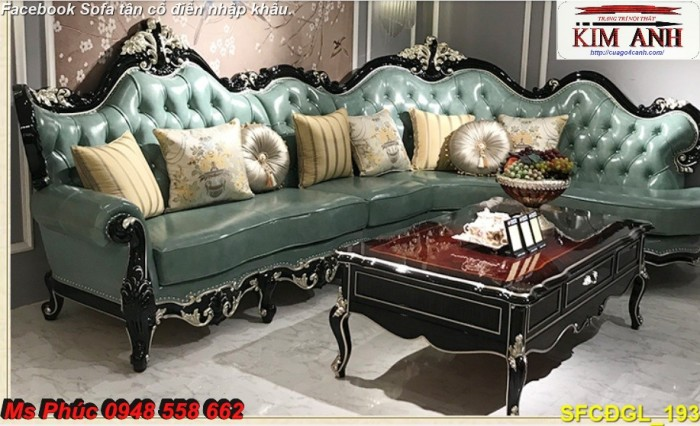 bộ bàn ghế sofa cổ điển11