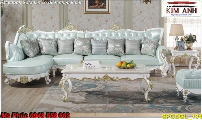 mẫu sofa tân cổ điển2