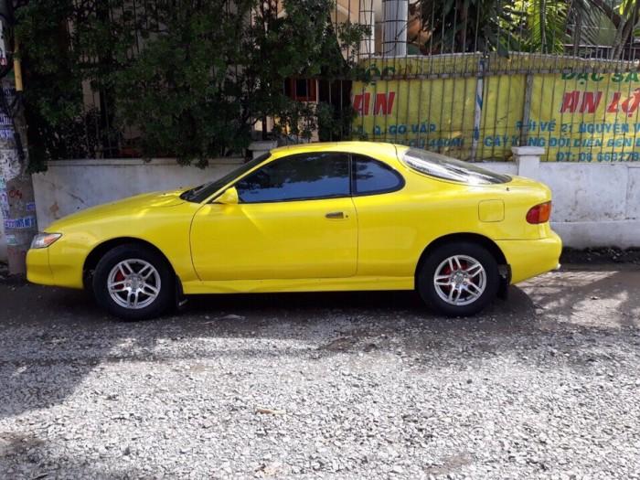 Bán Toyota Celica 2 cửa Nhập 1993 màu vàng zin cực đẹp