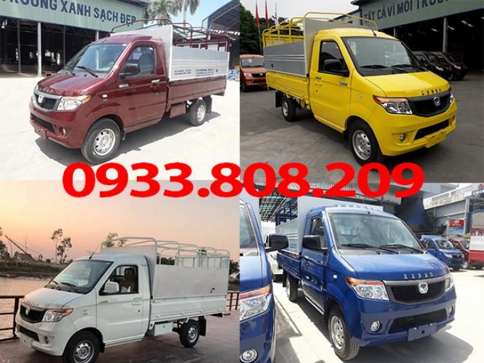 Giới thiệu dòng xe tải nhỏ vào thành phố kenbo 990kg