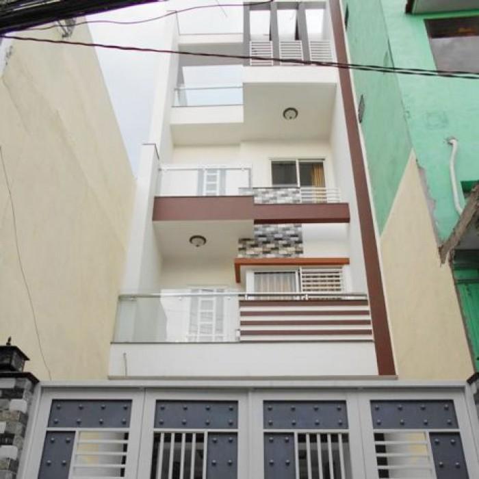 Bán gấp nhà MT Vĩnh Khánh 102m2. SHR.