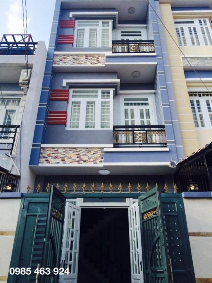 Bán nhà mặt tiền Nguyễn Chí Thanh, Phường 9, Quận 5, 4,5x18m