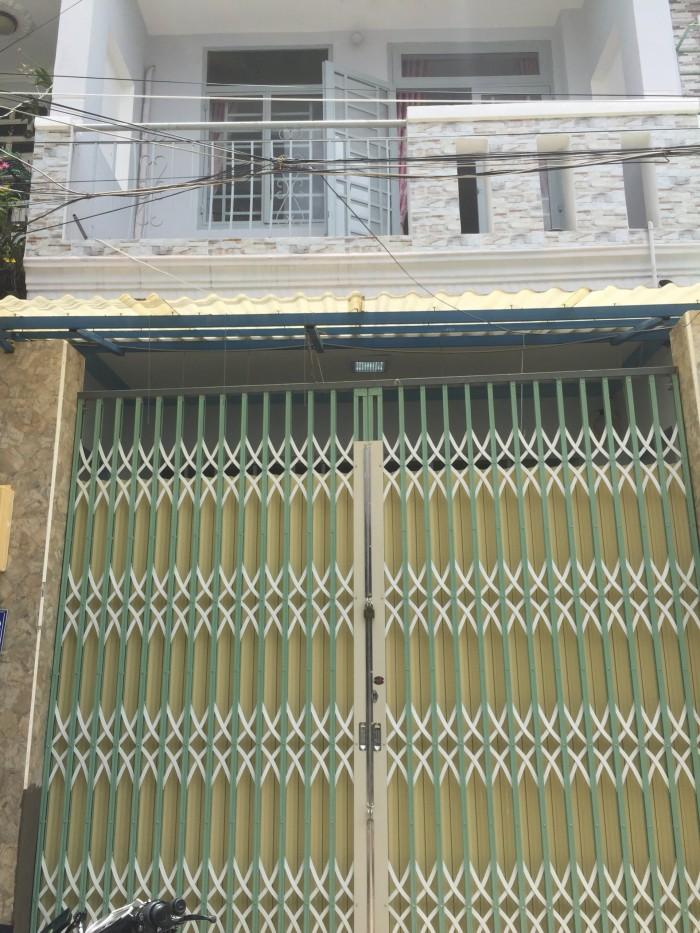 Bán Nhà 1 Lầu Huỳnh Thị Hai Q12 SHR
