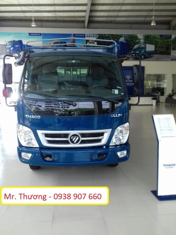 Xe Thaco Ollin350 Euro4 đời 2018, thùng kín, thùng mui bạt, thùng lửng, tải trọng 2T150, 2150Kg - thùng dài 4m3, có xe giao ngay, trả góp lên đến 80%.