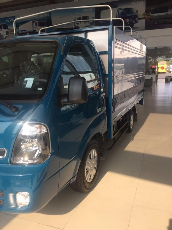 Xe tải Thaco Kia K200, tiêu chuẩn khí thải euro 4, tải trọng 1990Kg/ 1,99T/ thùng mui bạt/ thùng kín/ thùng lửng - Có xe giao ngay, hỗ trợ trả góp đến 80%.