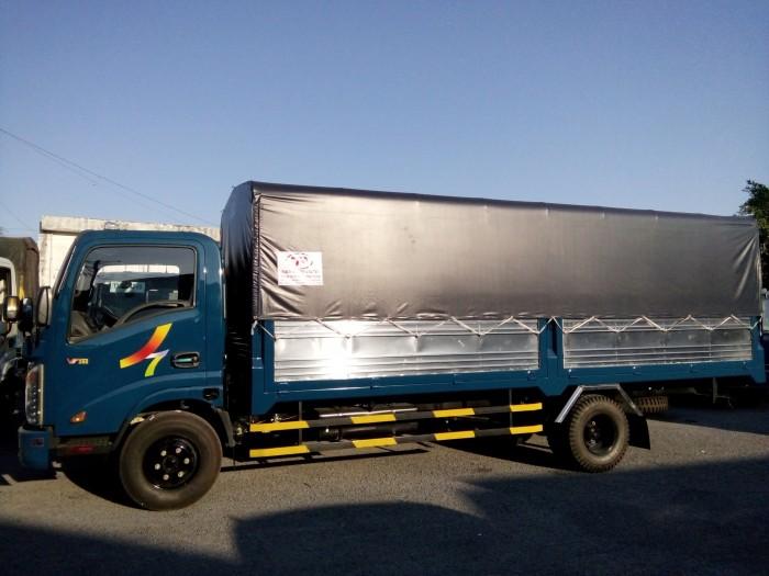 Xe tải Veam VT260-1 tải trọng 1,8 tấn, thùng dài 6,1m, trả trước 90tr nhận xe, xe 2018 máy ISUZU