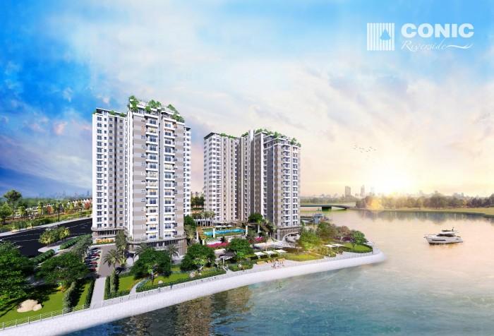 Conic Riverside khu căn hộ xanh cao cấp ven sông MT Tạ Quang Bửu