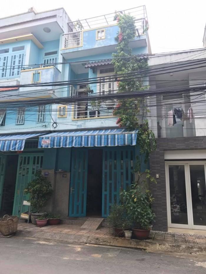 Bán  nhà MT  Miếu Bình Đông, P. Bình Trị Đông, 4x24m, 2 lầu