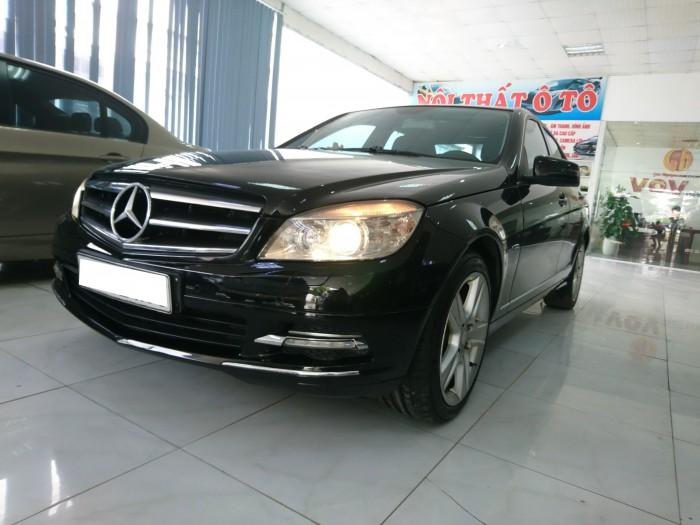 Bán Mercedes Benz C250 2010 CGI màu đen 2