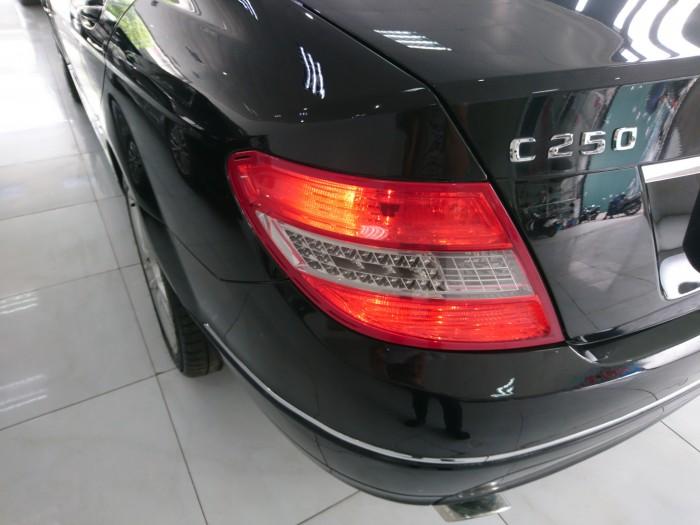 Bán Mercedes Benz C250 2010 CGI màu đen 8
