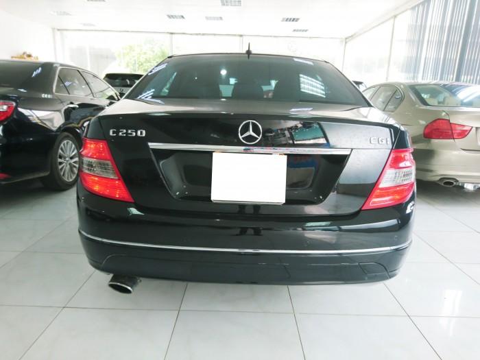 Bán Mercedes Benz C250 2010 CGI màu đen 9
