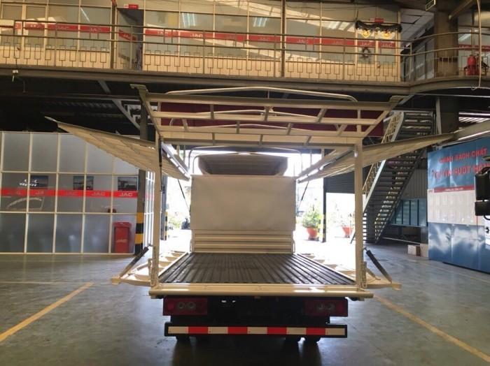Xe tải Jac X5, thùng mui bạt - Trả trước 60 triệu, giao xe ngay