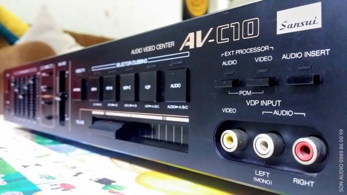 Ampli SANSUI AV C1024