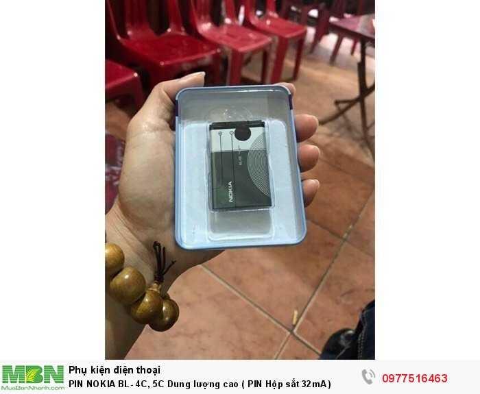 PIN NOKIA BL- 4C, 5C Dung lượng cao ( PIN Hộp sắt 32mA )2