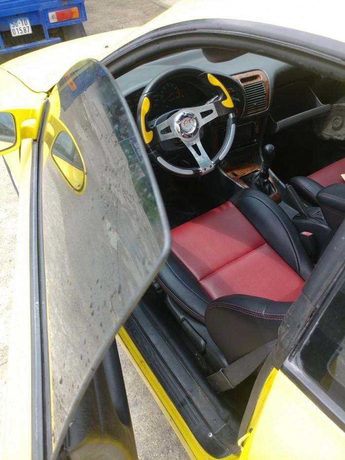 Cần bán xe Toyota Celica 1.8mt 1993 màu vàng, 2 cửa