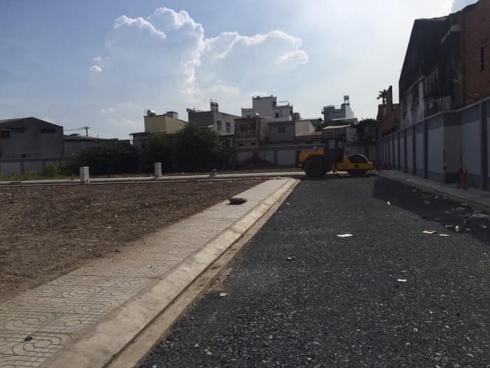 Bán nhanh lô đất đường kênh Tân hóa hẻm 8m kế mặt tiền Q. tân phú