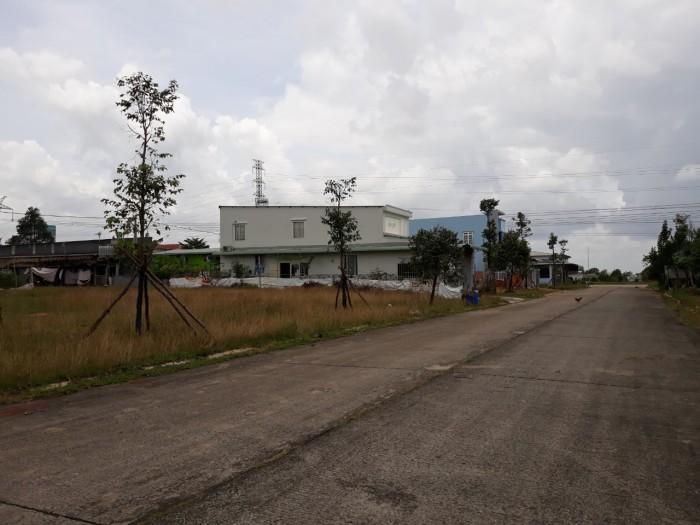 Gia đình đang cần tiền nên bán gấp lô đất 300M2 giá chỉ 595tr MT 25m, SHR, TC100%