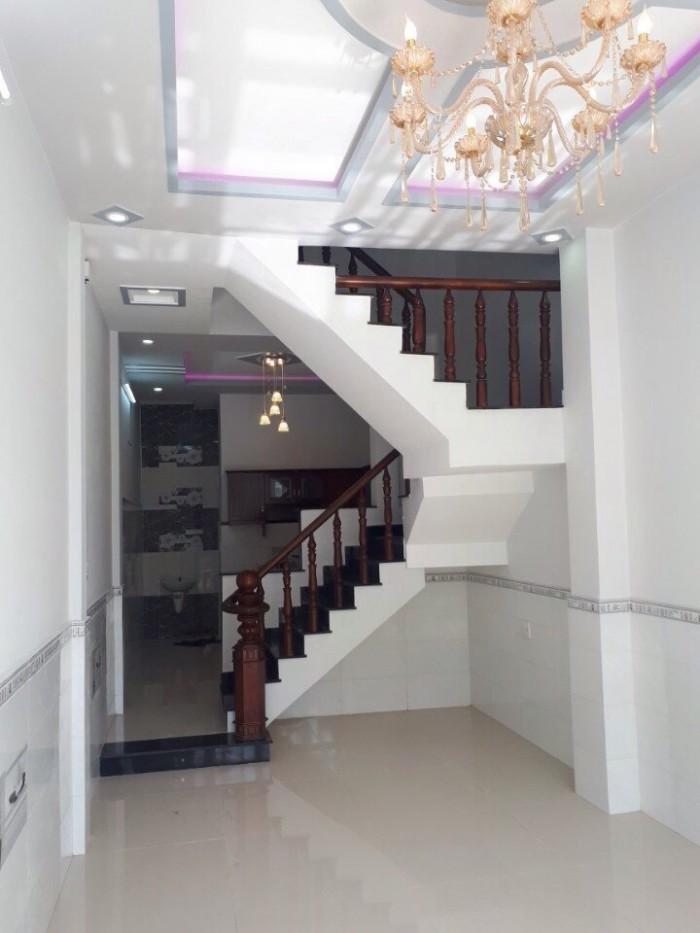 Nhà 1 trệt, 2 lầu khu dân cư Thuận Phát, Phong Phú, BC