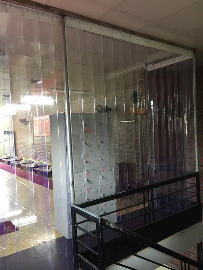 Màn, rèm nhựa PVC, rèm ngăn lạnh, rèm điều hòa, rèm ngăn bụi, ngăn côn trùng..2