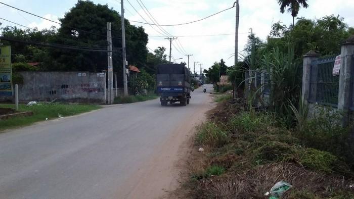 Bán đất ngay trung tâm Thị trấn Đức Hòa, MT đường Võ Văn Ngân, DT 125m2