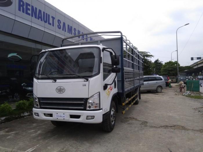 Bán trả góp xe tải faw 7,3 tấn động cơ Hyundai thùng dài 6,24m giá rẻ