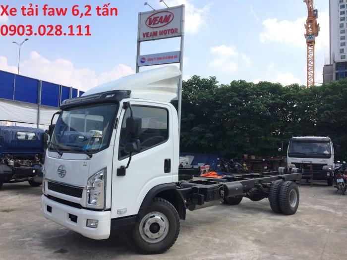 Bán Xe tải Faw 6,2 tấn thùng dài 4,36m giá rẻ