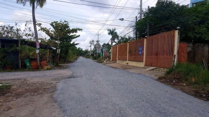 bán nền thổ cư mặt tiền đường hoàng quốc việt giá 3.6 tỷ