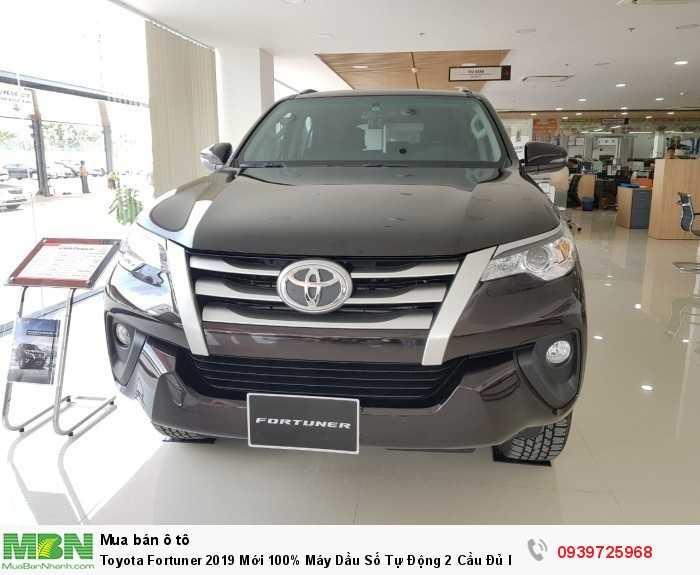 Toyota Fortuner 2019 Mới 100% Máy Dầu Số Tự Động 2 Cầu Đủ Màu - Nhập khẩu