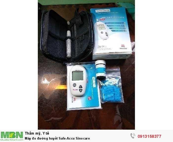 Máy đo đường huyết Safe-Accu Sinocare1