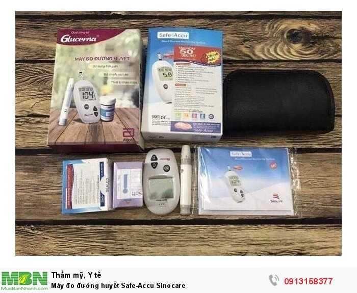 Máy đo đường huyết Safe-Accu Sinocare2