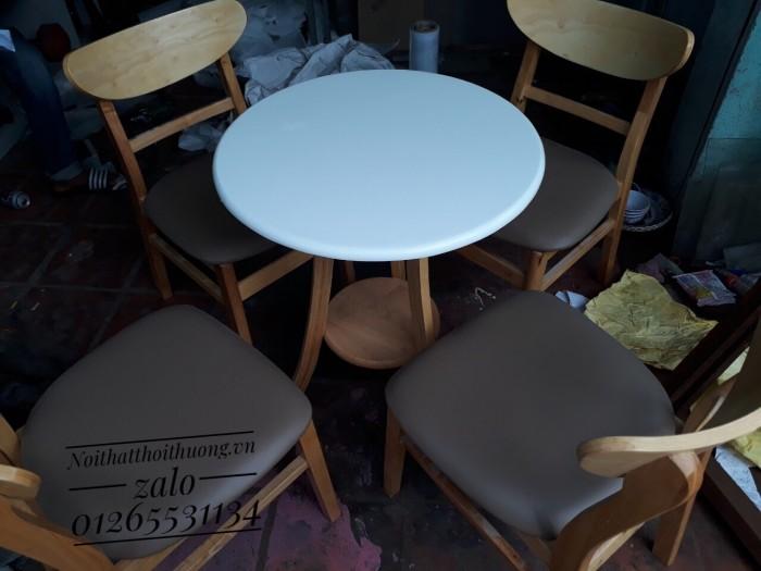 Bàn ghế tròn cafe,trà sữa giá rẻ.4