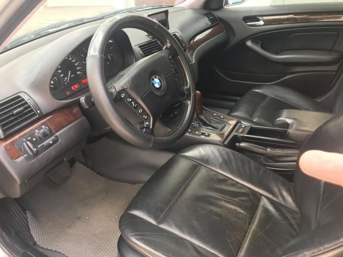 BMW 318i 2003 Tự động màu bạc bao zin a-z