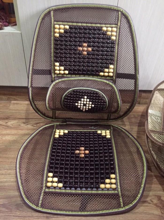 Tựa lưng ghế hạt gỗ 2