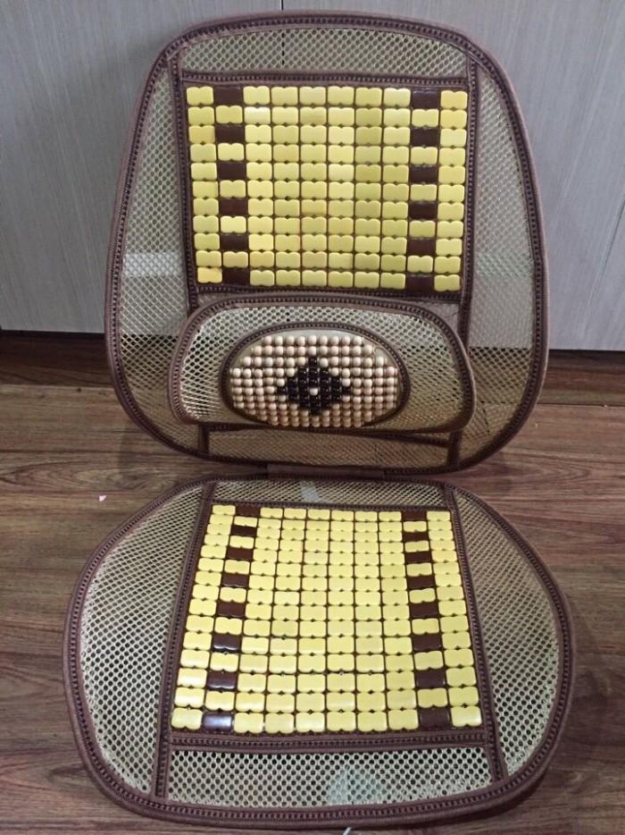 Tựa lưng ghế hạt gỗ 1