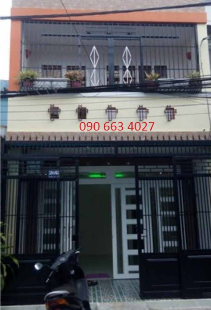 Bán gấp nhà 2 tầng Phan Văn Trị, 4x14m