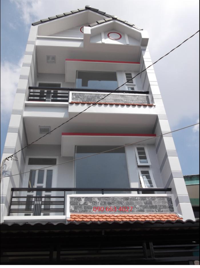 Bán nhà 3 tầng HXH Phan Văn Trị, Gò Vấp