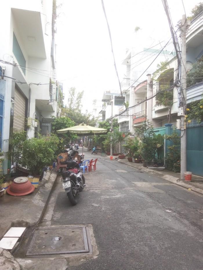 Bán Nhà HXH 8m Đường Thoại Ngọc Hầu,Dt 4x20m cấp 4
