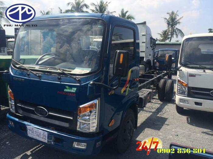 Xe tải 1 tấn 9 / động cơ Isuzu/ thùng hàng dài 6m/ hỗ trợ vay vốn ngân hàng. 0