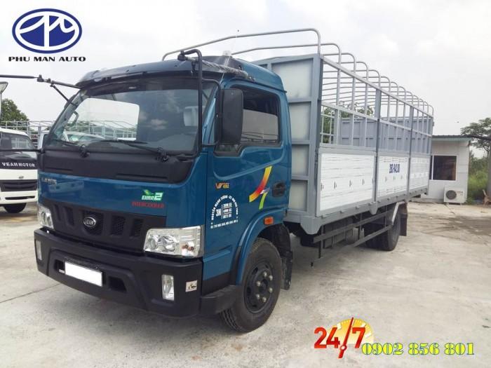 Xe tải 1 tấn 9 / động cơ Isuzu/ thùng hàng dài 6m/ hỗ trợ vay vốn ngân hàng. 1