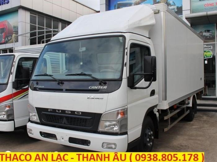 Xe tải Canter 7.5 tải trọng 3,8 tấn thương hiệu nhật bản, hỗ trợ trả góp 80% giá trị xe.