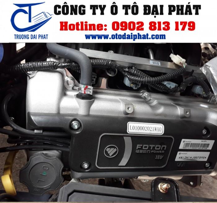 Xe tải Foton Gratour 890kg 1.2L thùng mui bạt động cơ xăng giá tốt 5