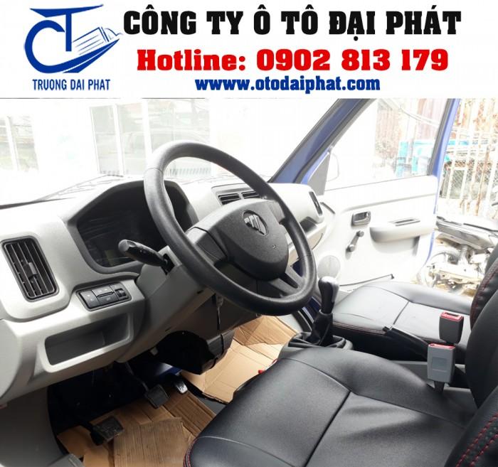 Xe tải Foton Gratour 890kg 1.2L thùng mui bạt động cơ xăng giá tốt 4