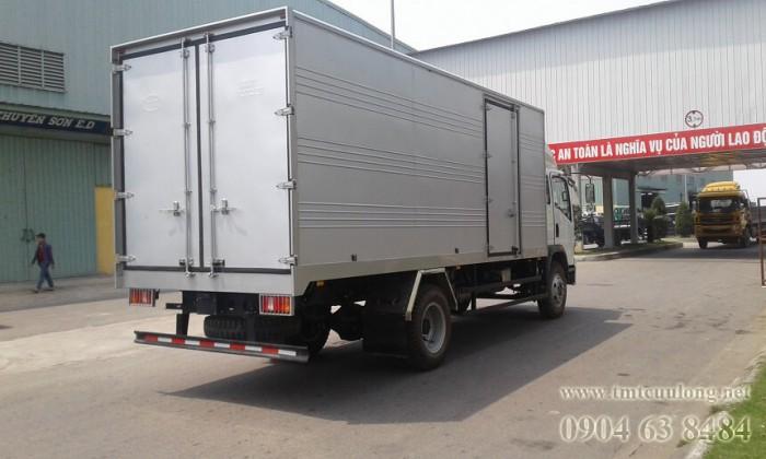 xe tải 7,5t thùng kín