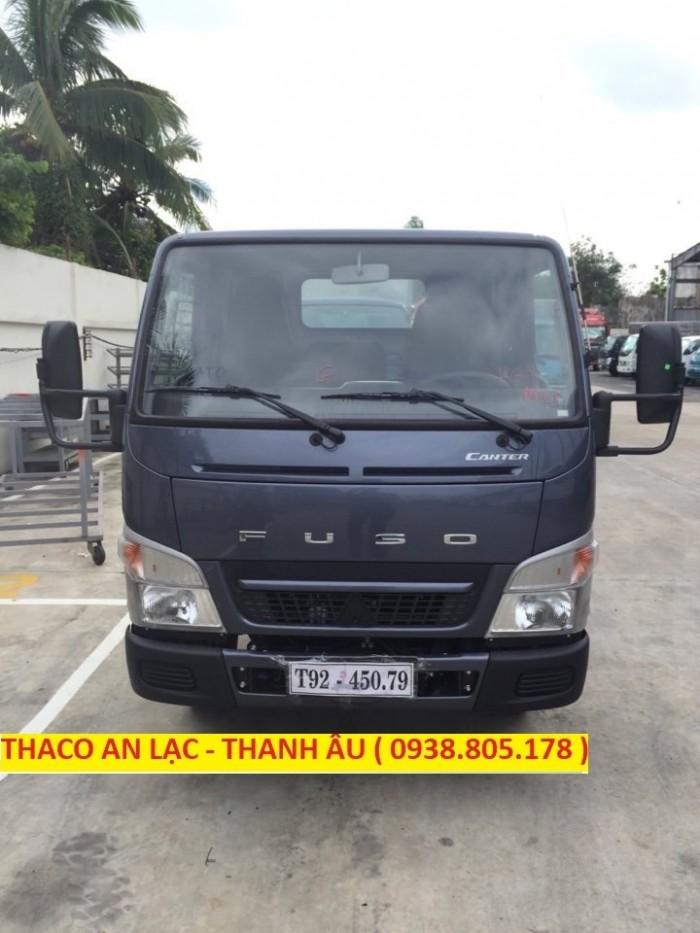 Xe tải Canter 4.99 tải trọng 2,2 tấn đời 2018 khí thải EURO4 nhập cảng Sài Gòn.