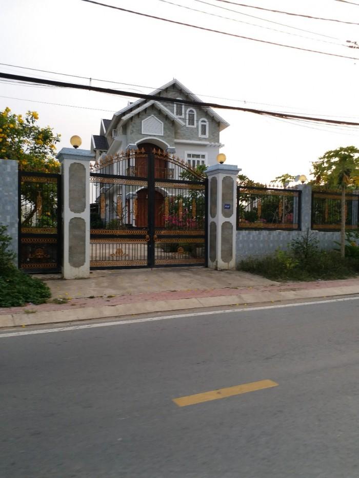 Bán nhà Biệt Thự đường Tỉnh lộ 2, Trung Tâm Thị Trấn Củ Chi. DT 550m2