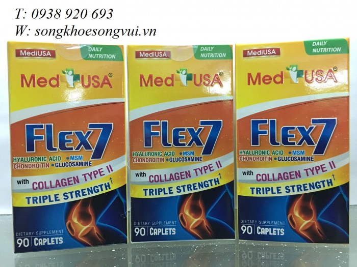 Bật mí cơ chế tác dụng của MediUSA Flex 7 Giúp làm chậm quá trình thoái hóa của xương khớp