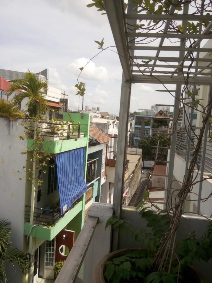 Cho thuê nhà nguyên căn đường Gò Dầu, 5x12m, 4 tấm